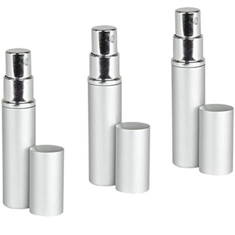 Mini Silver Aluminum Mist Sprayer